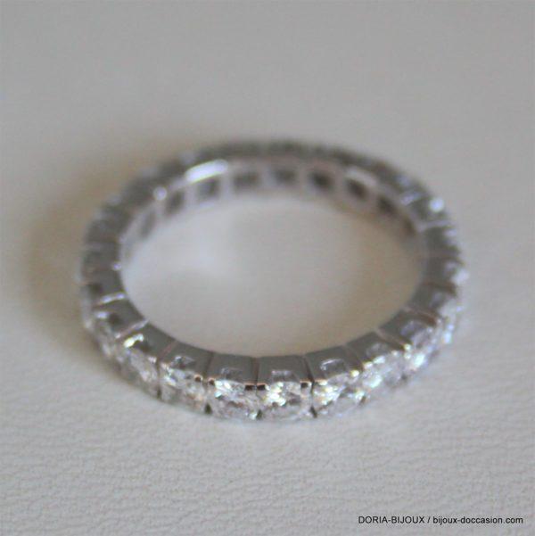 Alliance Or 3.10grs Tour Complet Diamant 2.30 Carat