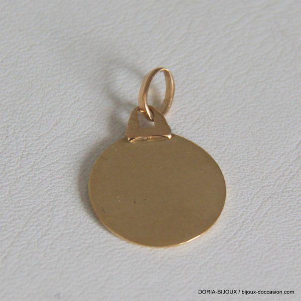Medaile ange or 18k 750/000 2.36 grs 17mm