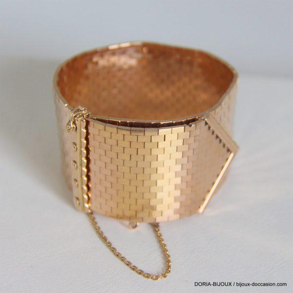bracelet or 18K 750/000 116.14grs maille ceinture