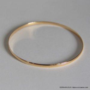 Bracelet rigide or jaune 18k- 750/000 - 6.20grs