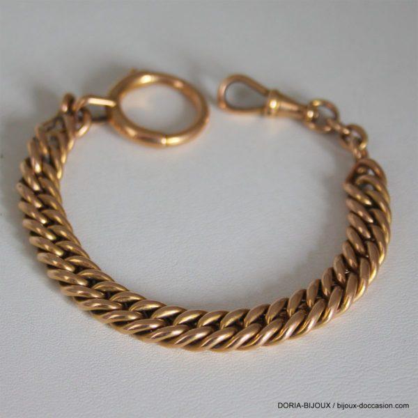 Chaine De Montre /BRACELET Or 18k 750 - 24.3grs