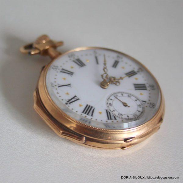 Montre Gousset Vintage  Ancre Or 18k 750 -