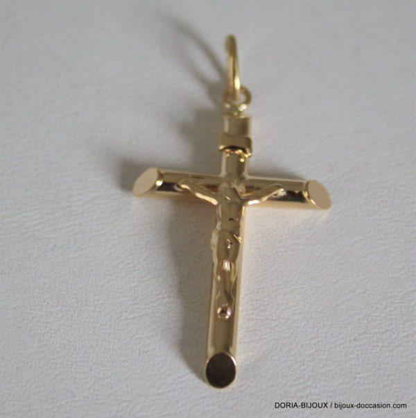 Pendentif Or 750 - 18k Religieux Croix - 2.6grs