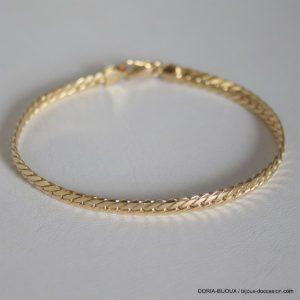 Bracelet Or 18k, 750 Maille Anglaise -18cm -6.40 Grs