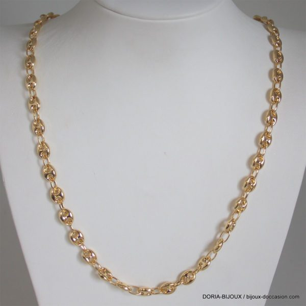 Chaine Or 18k, 750 Maille Marine 60cm - 30.75grs