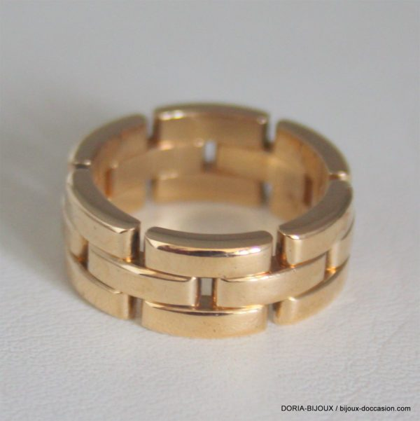 Bague Or 18k, 750/000 - 13.90grs- 54