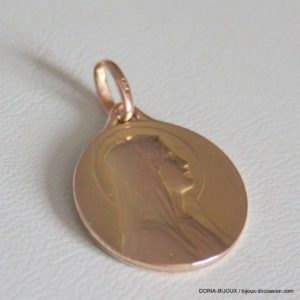 Medaille Or Vierge Or Jaune 18k, 750 - 2.10grs