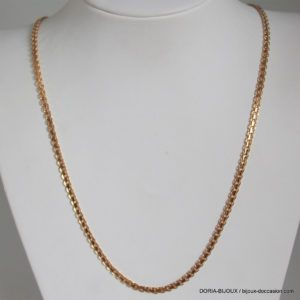 Chaine Or 18k 750 Maille Fantaisie 16.7grs -55cm-