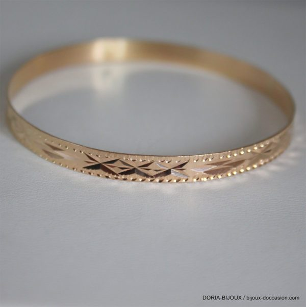 Bracelet Rigide Or 18k 750 -7.1GRS