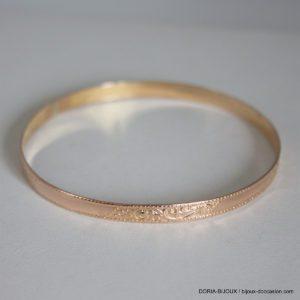 Bracelet Jonc Or 18k 750- 9.7grs