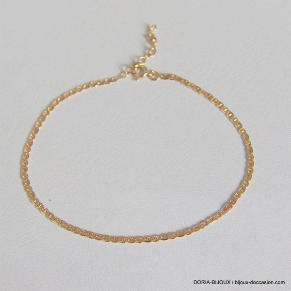 Chaine De Cheville Or 750 - 3.30grs- 25cm