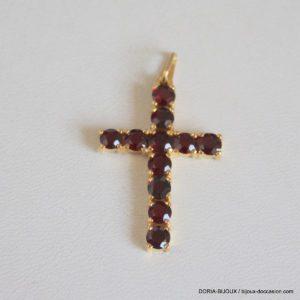 Croix Or 18 Carats 3,24 Grs Améthyste
