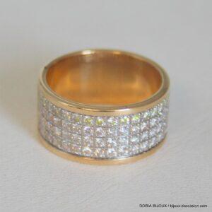 Bague Or 18 Carats 10,91 Grs Diamants
