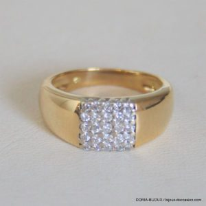 Bague Or 18 Carats 7,05grs Diamant