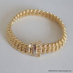 Bracelet Or 18k 750 Maille Americaine 20.85grs -19cm
