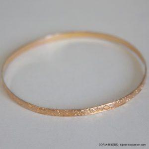 Bracelet Jonc Or 18k 750- 6.6grs