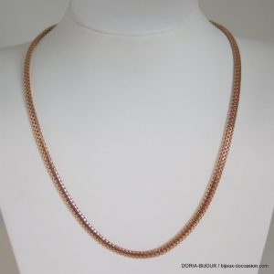 Collier Or 18k 750 Maille Fantaisie -13.8grs -45cm
