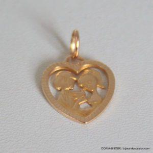 Médaille Amoureux De Peyne Or 18k, 750/000  2.2grs