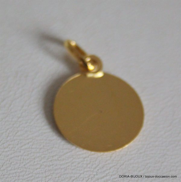 Médaille Ange Or Jaune 18k 750/000 - 1.95grs