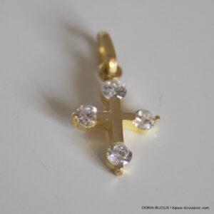 Croix Or 9k 1.80grs Dimension 33mm X 20mm