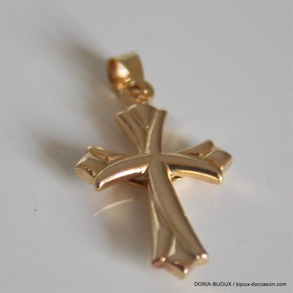 Croix Or 9k 1.00grs Dimension 22mm X 13mm