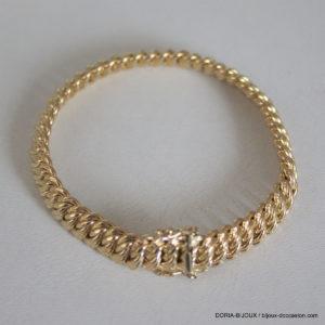 Bracelet Or 18k 750 Maille Americaine 17.25grs -20cm