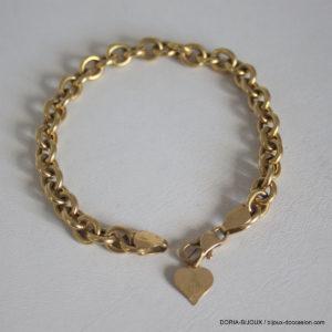 Bracelet Or 18k 750 Maiile Fantaisie - 12.3grs