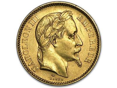 Pièce 20 Francs Napoléon