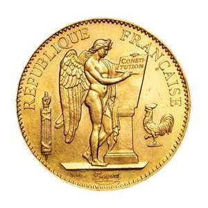 Pièce 100 Francs type Génie