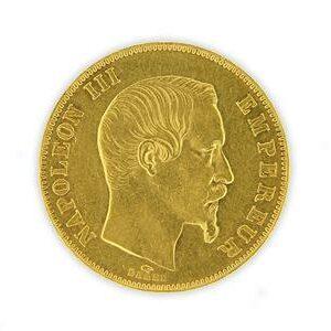 Pièce 50 Francs Napoléon 3