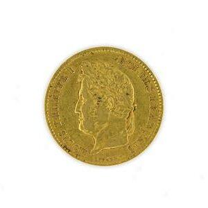 Pièce 40 Francs Louis Philippe 1er, 1831