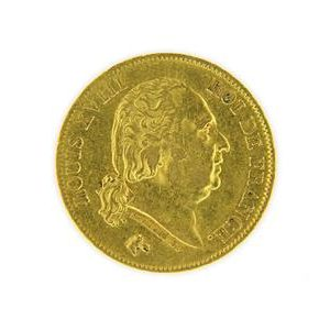 Pièce 40 Francs Louis XVIII, 1818
