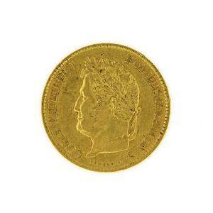 Pièce 40 Francs Louis Philippe 1er, 1834