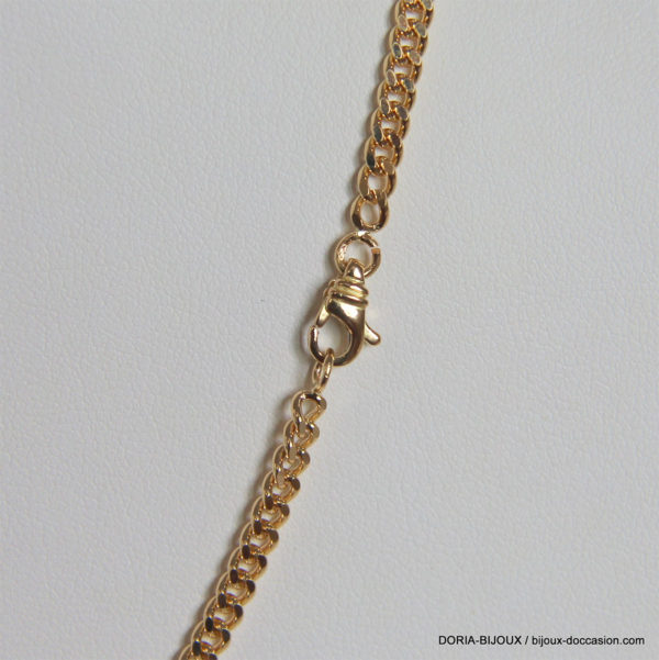 Chaine Maille Gourmette Or Jaune 18k-750- 21.15grs