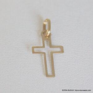 Pendentif Religieux Croix Or  750 - 18k 0.6grs