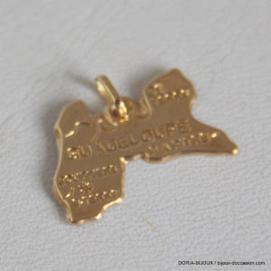 Pendentif Or Jaune 18k 750 Guadeloupe - 0.3grs