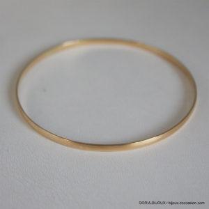 Bracelet Rigide Or Jaune 18k- 750/000 - 6.35grs