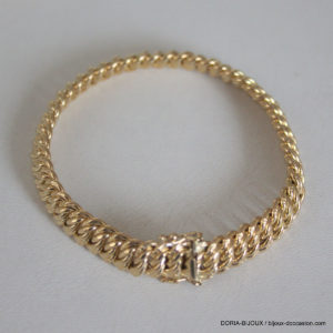 Bracelet Or 18k 750 Maille Americaine 16.75grs -20cm
