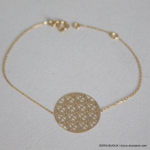Bracelet Or Jaune 18k, 750/0000 - 1.55grs