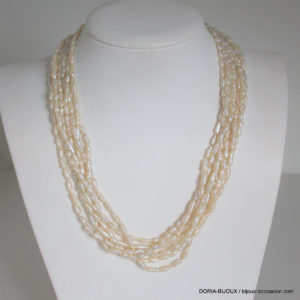 Collier Or 18k, 750/000 Nacre 3.2 Grs