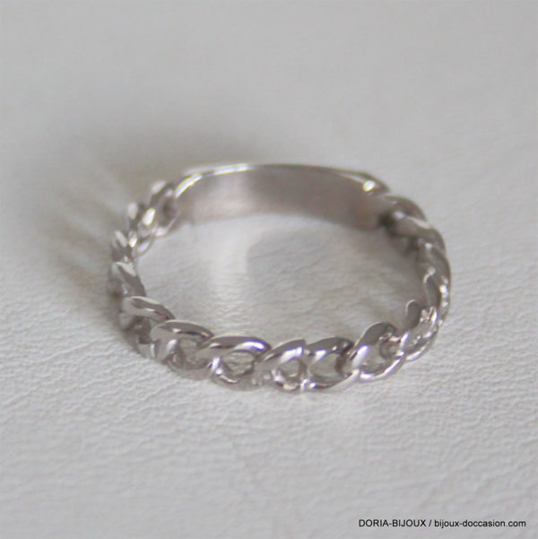 Bague A Or 18k, 750/000 - 1.8grs - 50