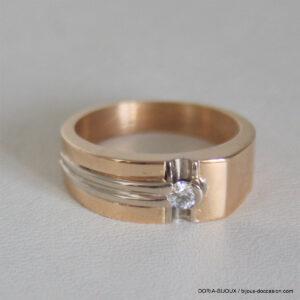 Bague Alliance Or 750 Diamants- 7grs  -52
