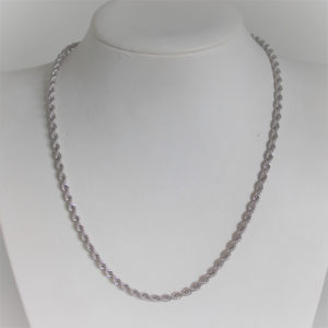 Chaine Maille Corde Or 18k 750 - 6.30grs