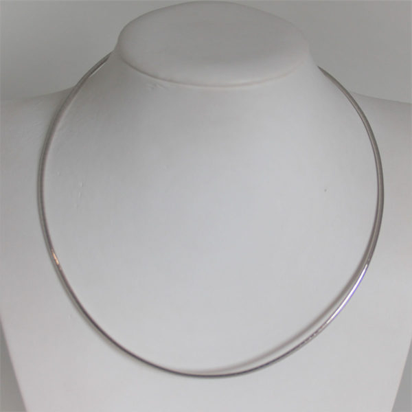 Collier Omega Or Gris 45cm - 13.65grs