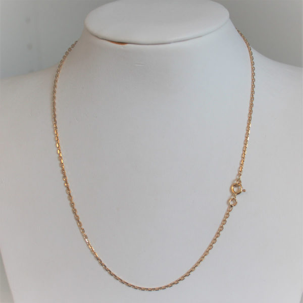 Chaine Maille  Forçat OR 18k 750 - 40cm - 4.29grs