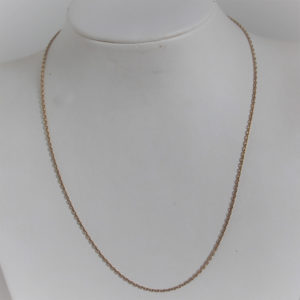 Chaine Maille  Forçat OR 18k 750 - 41cm - 3.35grs