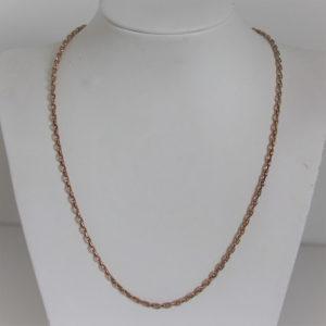 Chaine Maille  Forçat OR 18k 750 - 48cm - 6.8grs