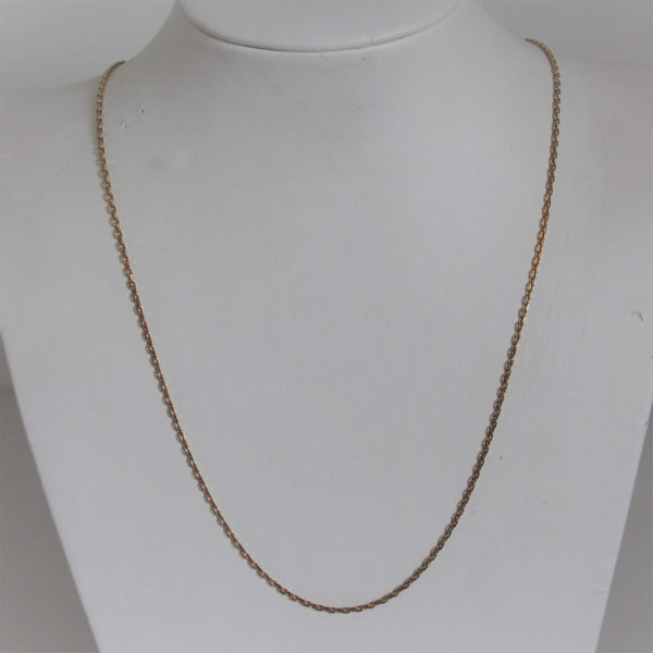 Chaine Maille  Forçat Or 18k 750 - 56cm - 5.6grs