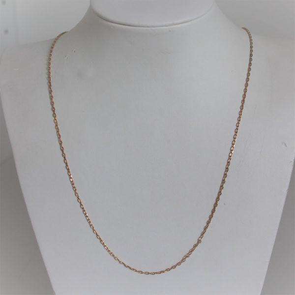 Chaine Maille  Forçat Or 18k 750 - 60cm - 4.5grs