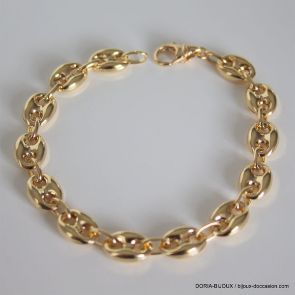 Bracelet Grain De Café Or 18k 750 - 17,05grs - 21cm